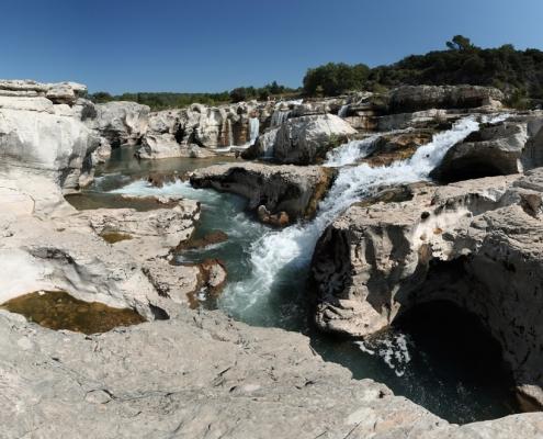 Les cascades du Sautadet à Roques-sur-Cèze
