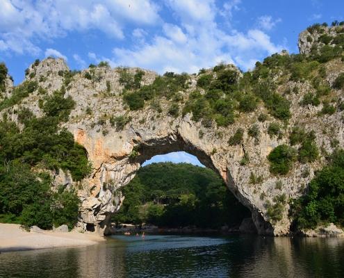 Le Pont d'Arc en Ardèche